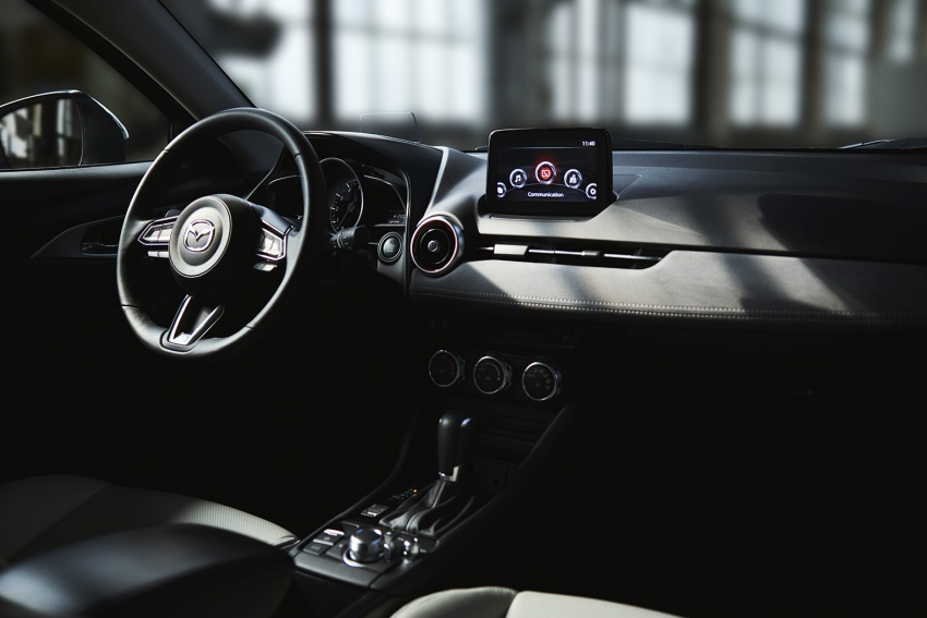 Mazda CX-3 facelift bows in NY with subtle changes Image #799488