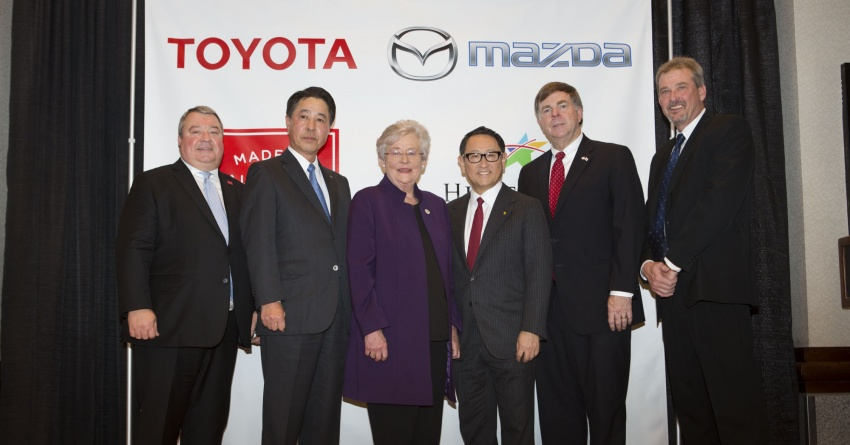 Toyota and Mazda establish joint-venture company for new plant in Alabama – production to begin in 2021 Image #788977