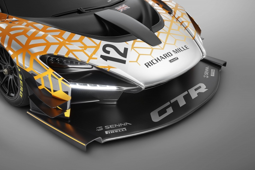 McLaren Senna GTR Concept – preview for limited-number model, over 814 hp, 1,000 kg of downforce Image #787707