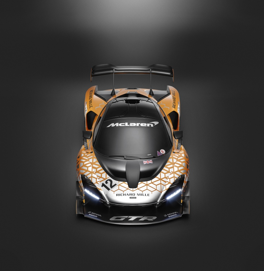 McLaren Senna GTR Concept – preview for limited-number model, over 814 hp, 1,000 kg of downforce Image #787698