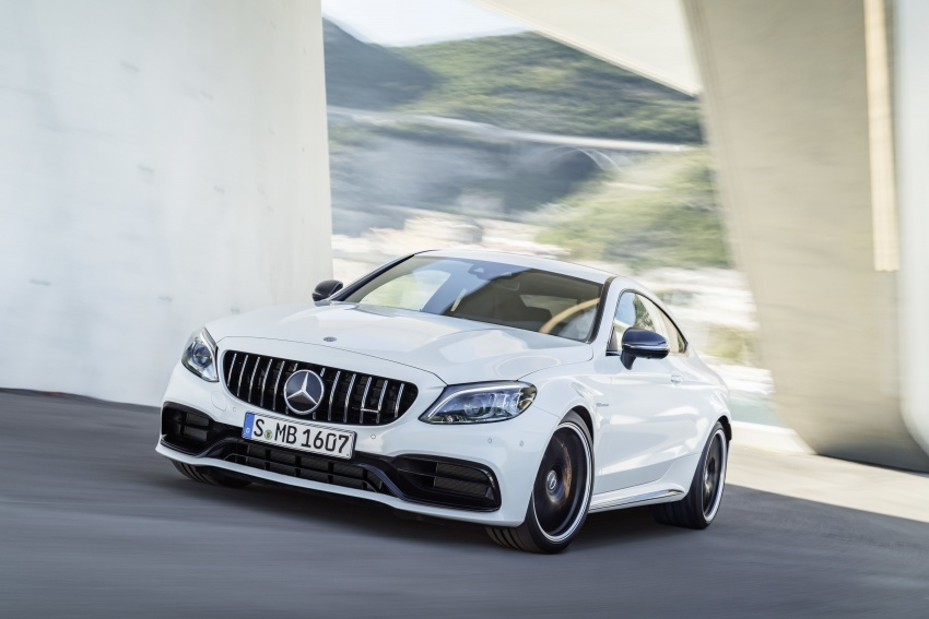 Mercedes-AMG C63 facelift debuts with new 9G auto Image #797894