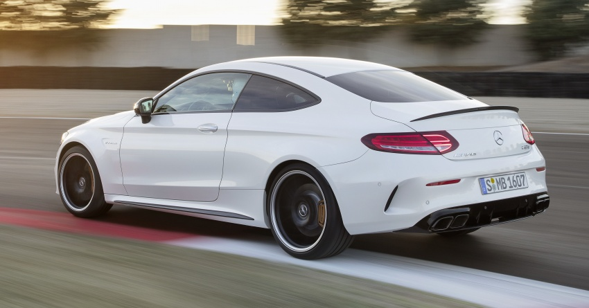 Mercedes-AMG C63 facelift debuts with new 9G auto Image #797909