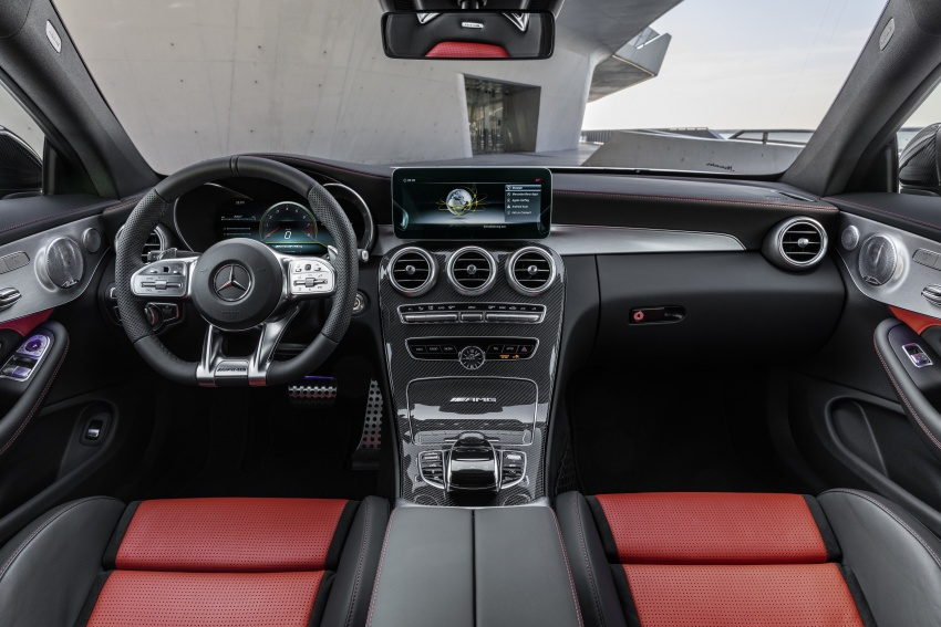 Mercedes-AMG C63 facelift debuts with new 9G auto Image #797911