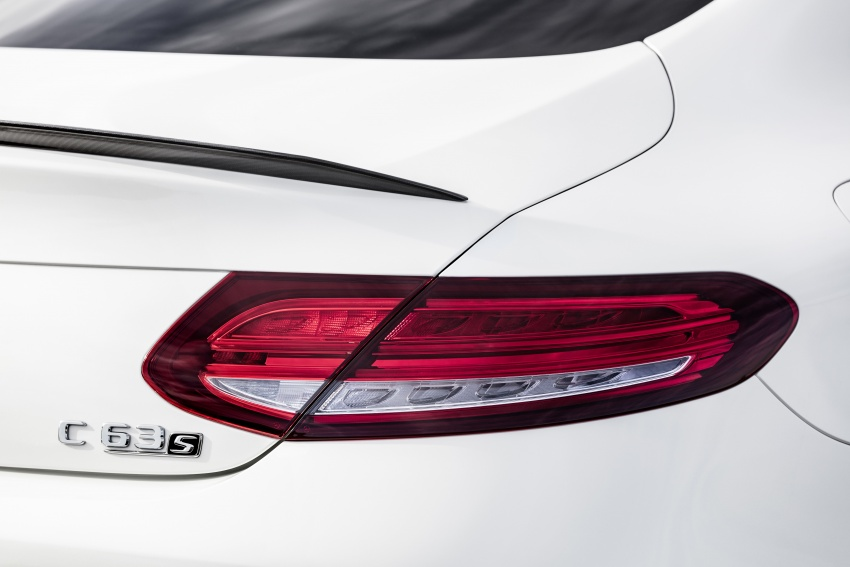 Mercedes-AMG C63 facelift debuts with new 9G auto Image #797912
