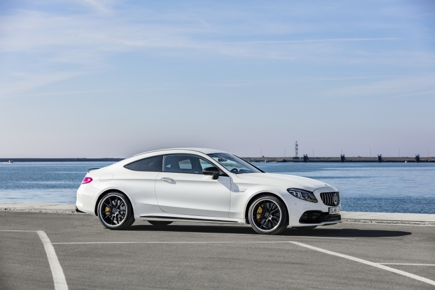 Mercedes-AMG C63 facelift debuts with new 9G auto Image #797914