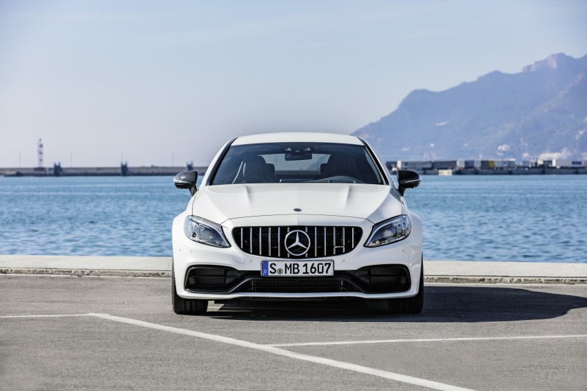 Mercedes-AMG C63 facelift debuts with new 9G auto Image #797917