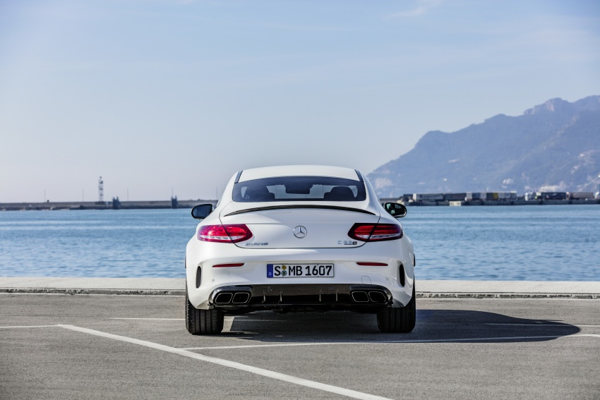 Mercedes-AMG C63 facelift debuts with new 9G auto Image #797919