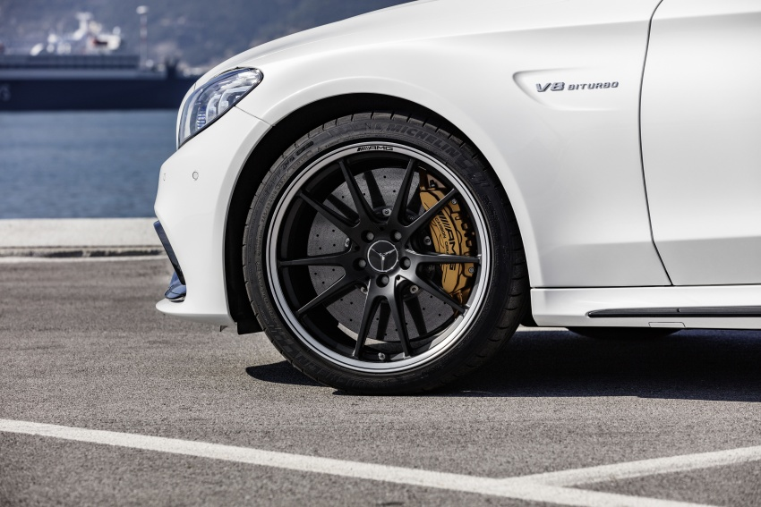 Mercedes-AMG C63 facelift debuts with new 9G auto Image #797922