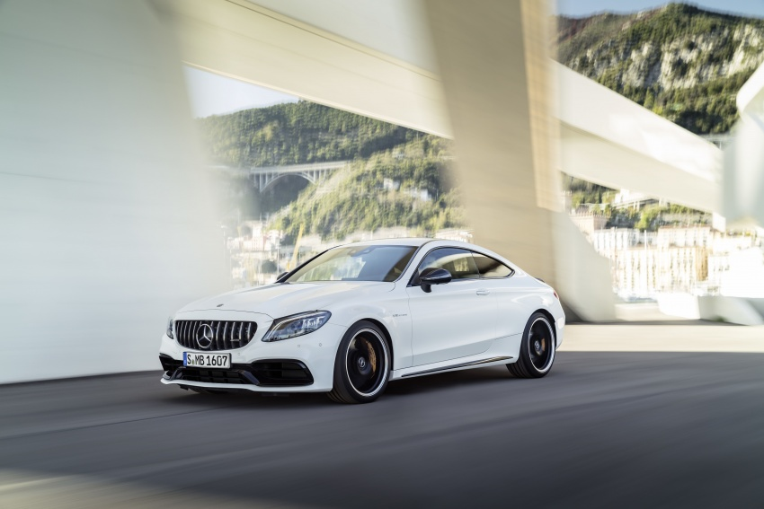 Mercedes-AMG C63 facelift debuts with new 9G auto Image #797896