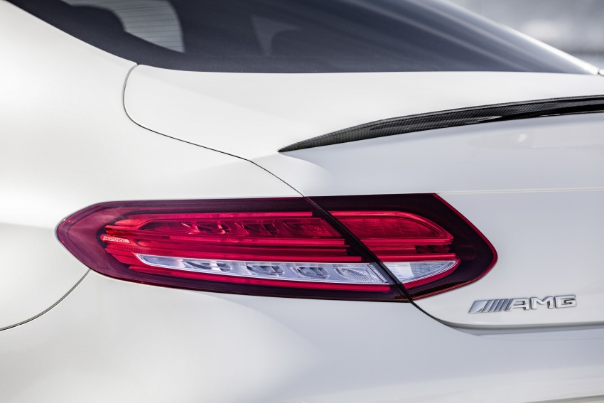 Mercedes-AMG C63 facelift debuts with new 9G auto Image #797923
