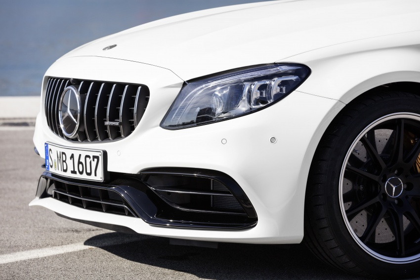 Mercedes-AMG C63 facelift debuts with new 9G auto Image #797924