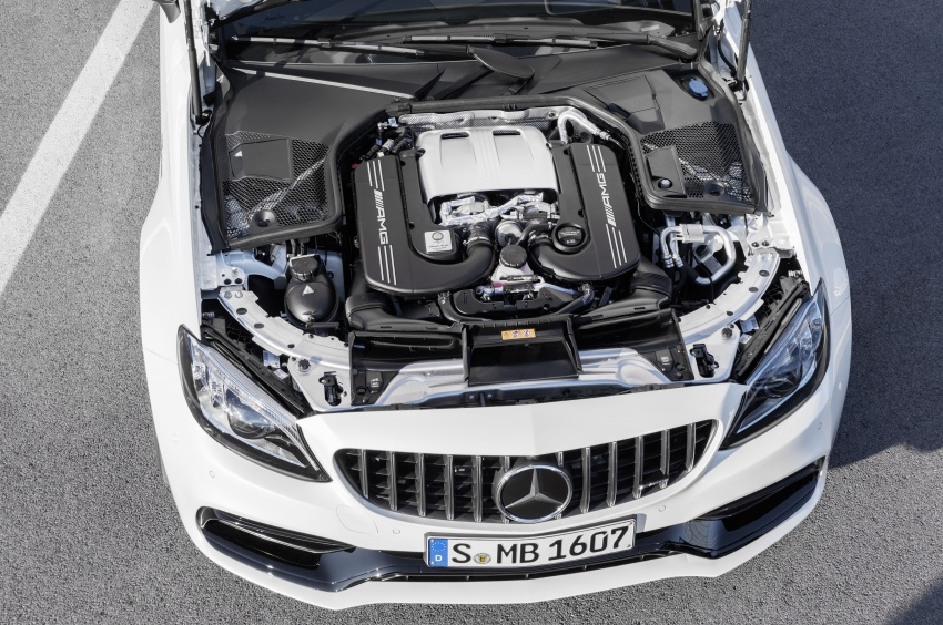 Mercedes-AMG C63 facelift debuts with new 9G auto Image #797925