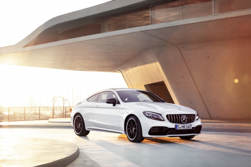 Mercedes-AMG C63 facelift debuts with new 9G auto Image #797929