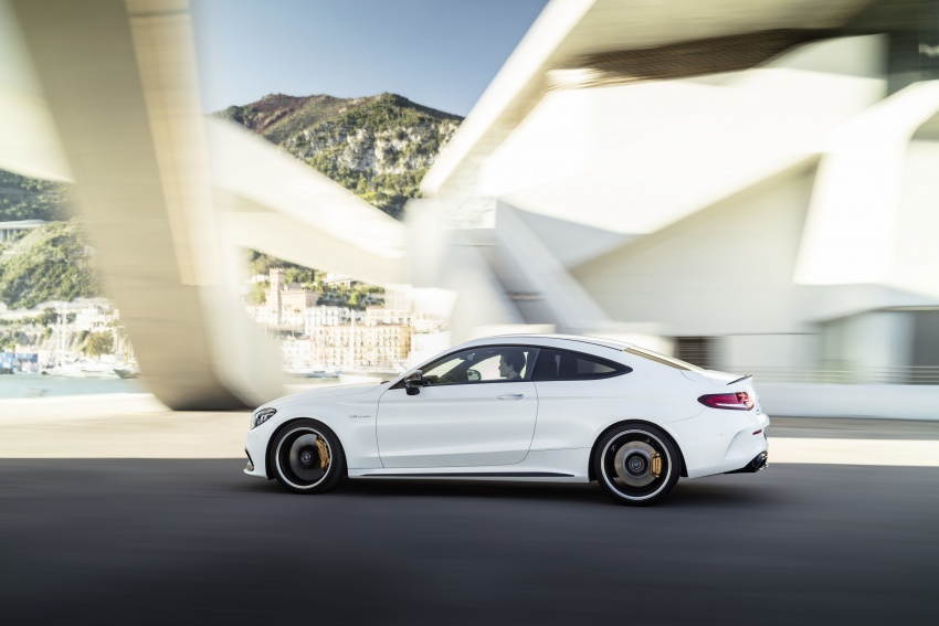 Mercedes-AMG C63 facelift debuts with new 9G auto Image #797900