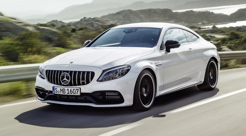 Mercedes-AMG C63 facelift debuts with new 9G auto Image #797901