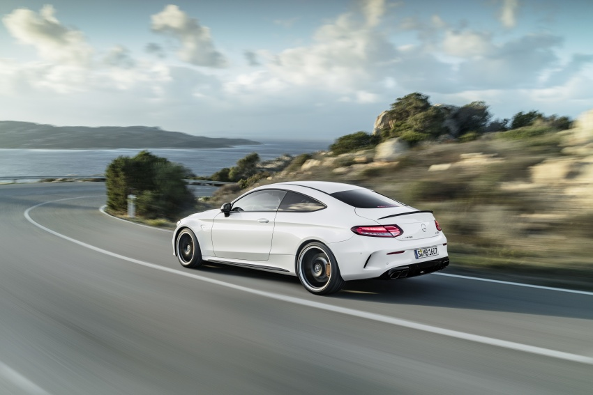 Mercedes-AMG C63 facelift debuts with new 9G auto Image #797902