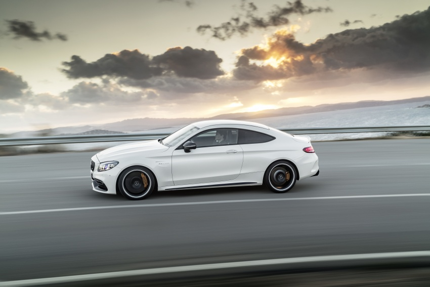 Mercedes-AMG C63 facelift debuts with new 9G auto Image #797903