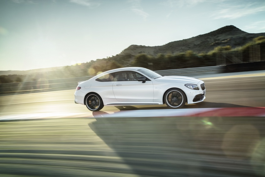 Mercedes-AMG C63 facelift debuts with new 9G auto Image #797905