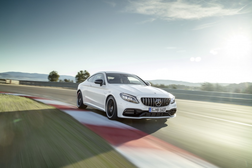 Mercedes-AMG C63 facelift debuts with new 9G auto Image #797906