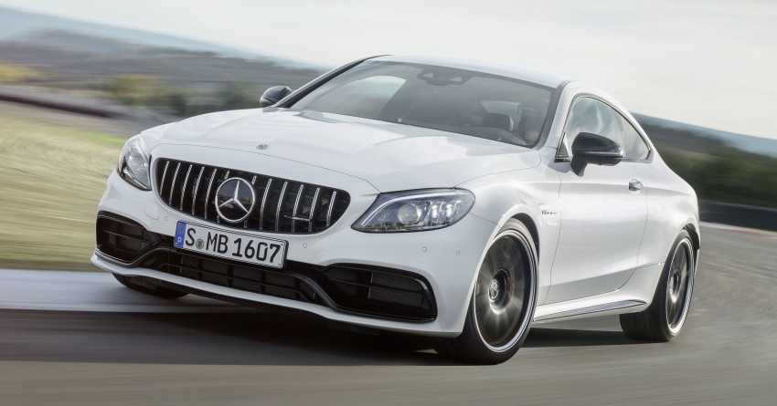 Mercedes-AMG C63 facelift debuts with new 9G auto Image #797907