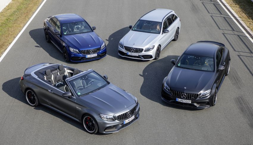 Mercedes-AMG C63 facelift debuts with new 9G auto Image #956018
