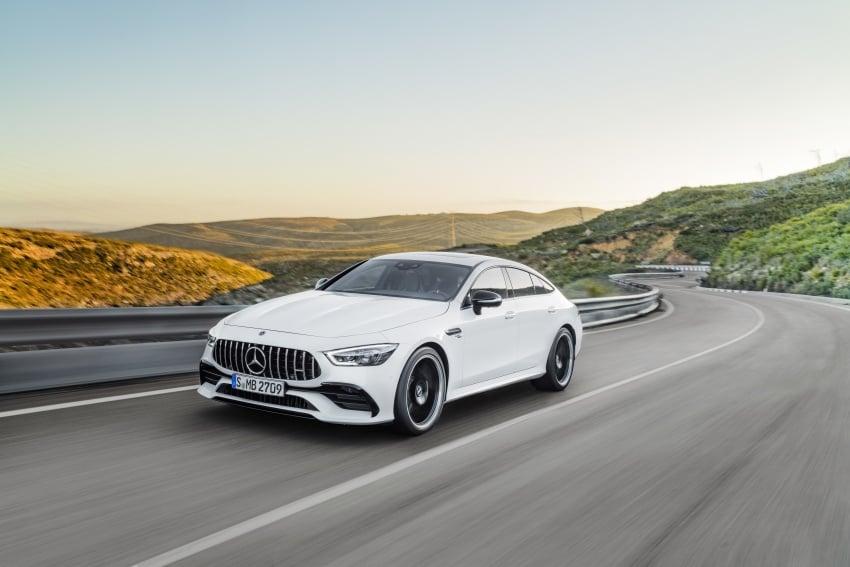 Mercedes-AMG GT Coupe 4-pintu didedahkan – tampil pilihan enjin 4.0L V8 twin turbo, 630 hp/900 Nm Image #787458