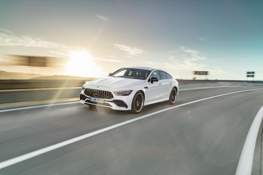 Mercedes-AMG GT Coupe 4-pintu didedahkan – tampil pilihan enjin 4.0L V8 twin turbo, 630 hp/900 Nm Image #787472
