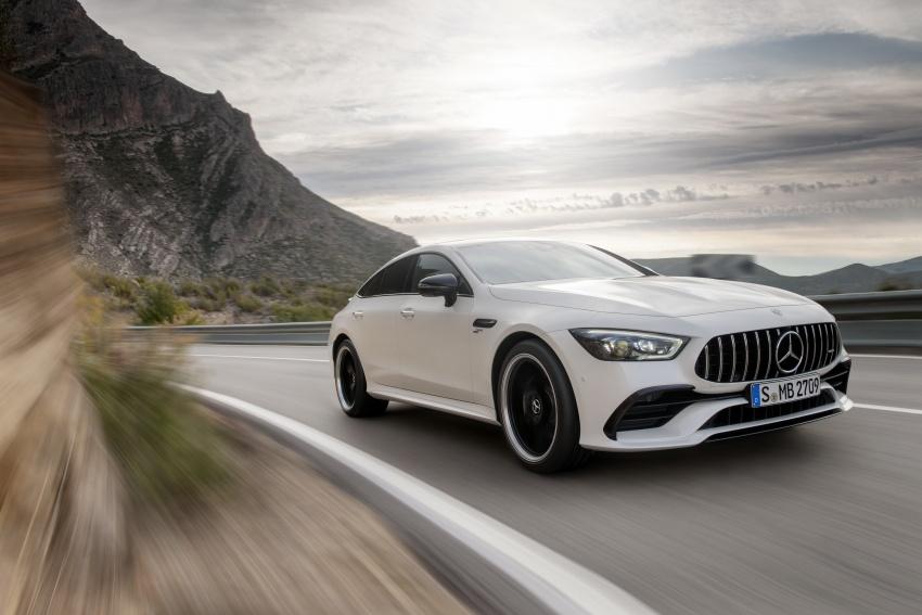 Mercedes-AMG GT Coupe 4-pintu didedahkan – tampil pilihan enjin 4.0L V8 twin turbo, 630 hp/900 Nm Image #787475