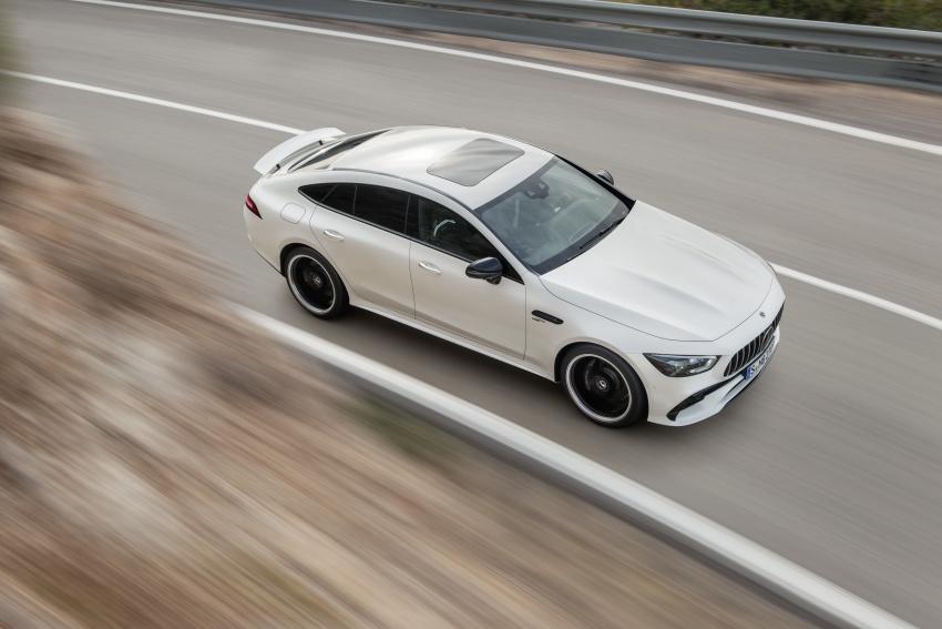 Mercedes-AMG GT Coupe 4-pintu didedahkan – tampil pilihan enjin 4.0L V8 twin turbo, 630 hp/900 Nm Image #787481