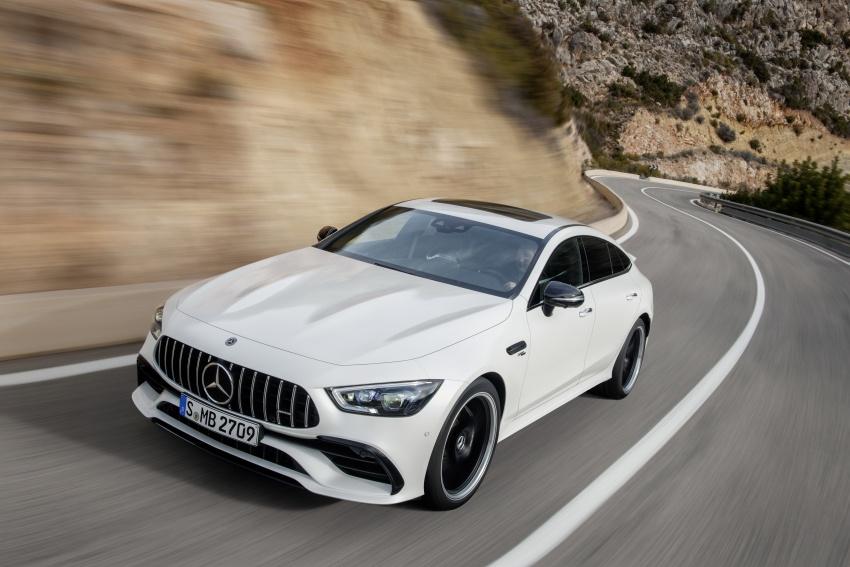 Mercedes-AMG GT Coupe 4-pintu didedahkan – tampil pilihan enjin 4.0L V8 twin turbo, 630 hp/900 Nm Image #787485