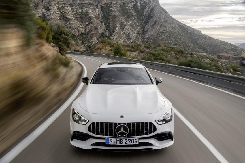 Mercedes-AMG GT Coupe 4-pintu didedahkan – tampil pilihan enjin 4.0L V8 twin turbo, 630 hp/900 Nm Image #787487