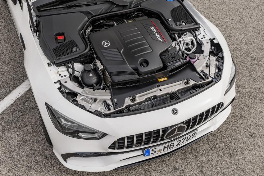 Mercedes-AMG GT Coupe 4-pintu didedahkan – tampil pilihan enjin 4.0L V8 twin turbo, 630 hp/900 Nm Image #787504
