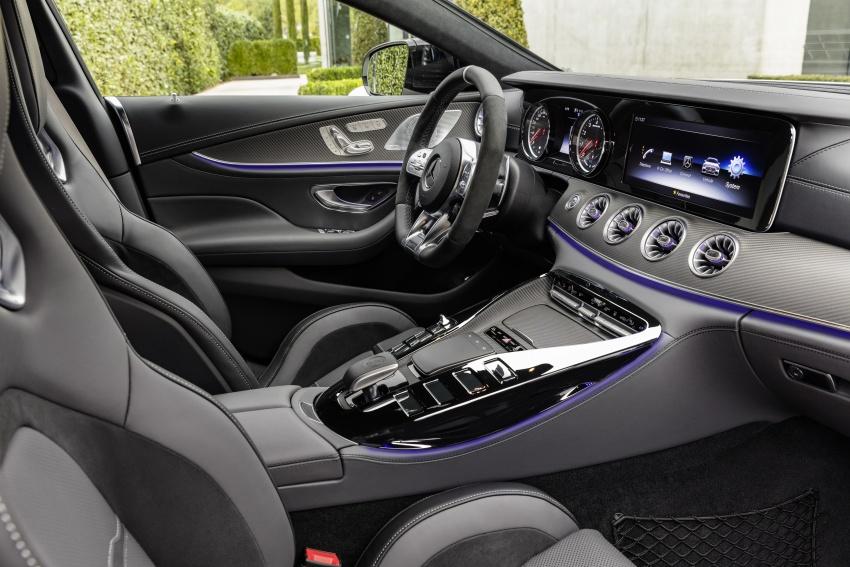 Mercedes-AMG GT Coupe 4-pintu didedahkan – tampil pilihan enjin 4.0L V8 twin turbo, 630 hp/900 Nm Image #787515