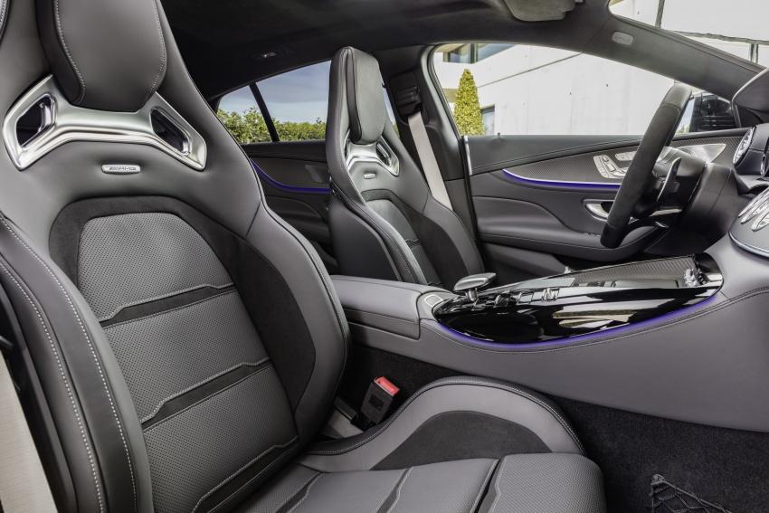 Mercedes-AMG GT Coupe 4-pintu didedahkan – tampil pilihan enjin 4.0L V8 twin turbo, 630 hp/900 Nm Image #787532