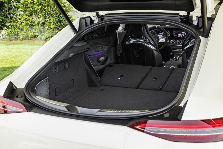 Mercedes-AMG GT Coupe 4-pintu didedahkan – tampil pilihan enjin 4.0L V8 twin turbo, 630 hp/900 Nm Image #787536
