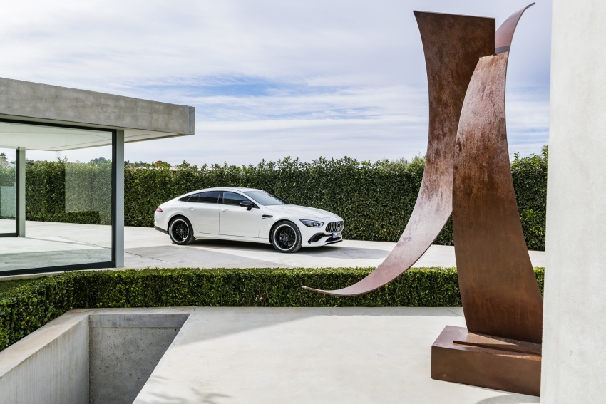 Mercedes-AMG GT Coupe 4-pintu didedahkan – tampil pilihan enjin 4.0L V8 twin turbo, 630 hp/900 Nm Image #787543