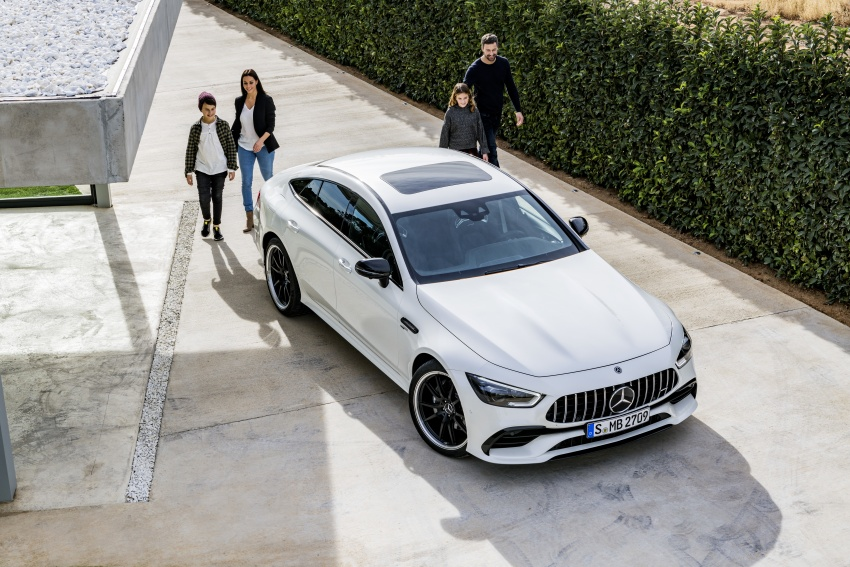 Mercedes-AMG GT Coupe 4-pintu didedahkan – tampil pilihan enjin 4.0L V8 twin turbo, 630 hp/900 Nm Image #787552