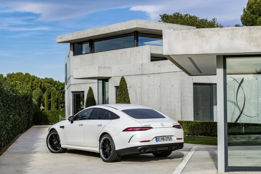 Mercedes-AMG GT Coupe 4-pintu didedahkan – tampil pilihan enjin 4.0L V8 twin turbo, 630 hp/900 Nm Image #787567