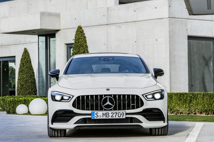 Mercedes-AMG GT Coupe 4-pintu didedahkan – tampil pilihan enjin 4.0L V8 twin turbo, 630 hp/900 Nm Image #787569
