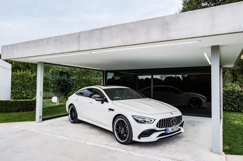 Mercedes-AMG GT Coupe 4-pintu didedahkan – tampil pilihan enjin 4.0L V8 twin turbo, 630 hp/900 Nm Image #787571