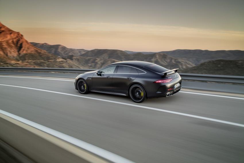 Mercedes-AMG GT Coupe 4-pintu didedahkan – tampil pilihan enjin 4.0L V8 twin turbo, 630 hp/900 Nm Image #787575