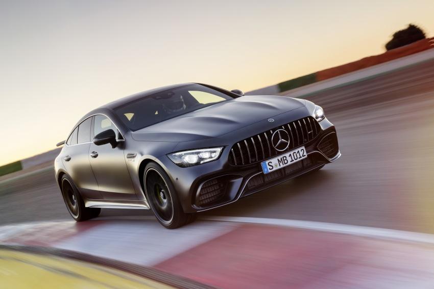 Mercedes-AMG GT Coupe 4-pintu didedahkan – tampil pilihan enjin 4.0L V8 twin turbo, 630 hp/900 Nm Image #787578