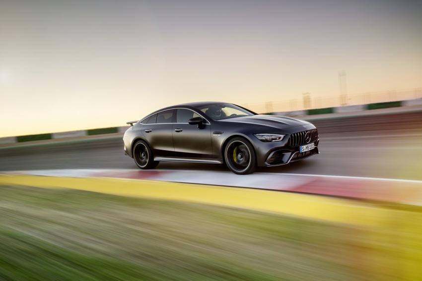 Mercedes-AMG GT Coupe 4-pintu didedahkan – tampil pilihan enjin 4.0L V8 twin turbo, 630 hp/900 Nm Image #787583