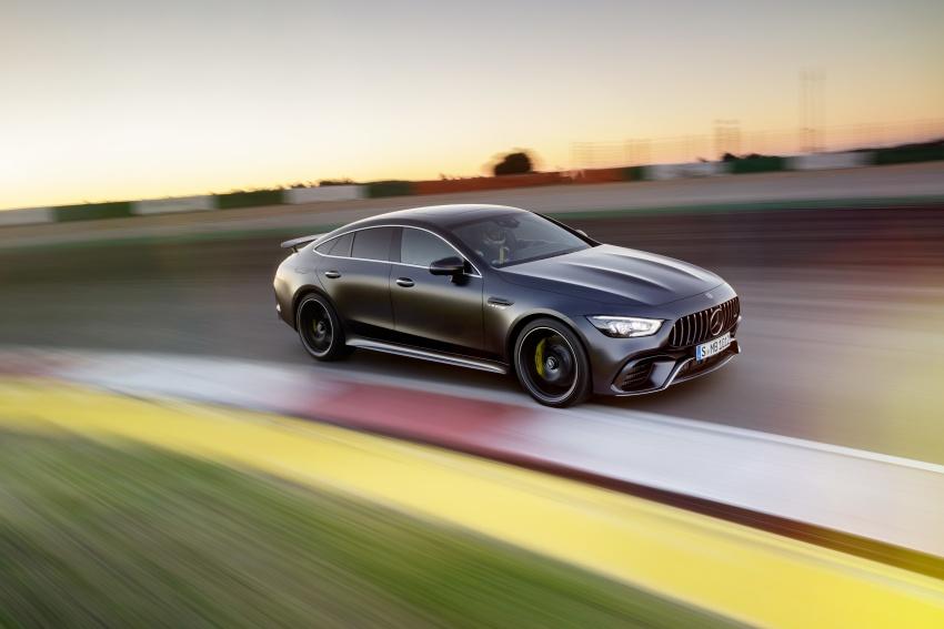 Mercedes-AMG GT Coupe 4-pintu didedahkan – tampil pilihan enjin 4.0L V8 twin turbo, 630 hp/900 Nm Image #787587