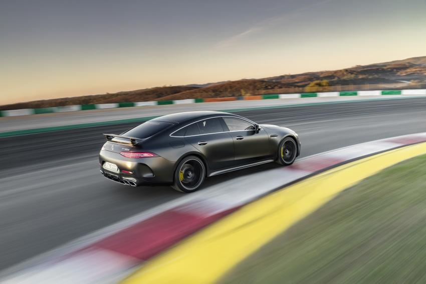 Mercedes-AMG GT Coupe 4-pintu didedahkan – tampil pilihan enjin 4.0L V8 twin turbo, 630 hp/900 Nm Image #787596