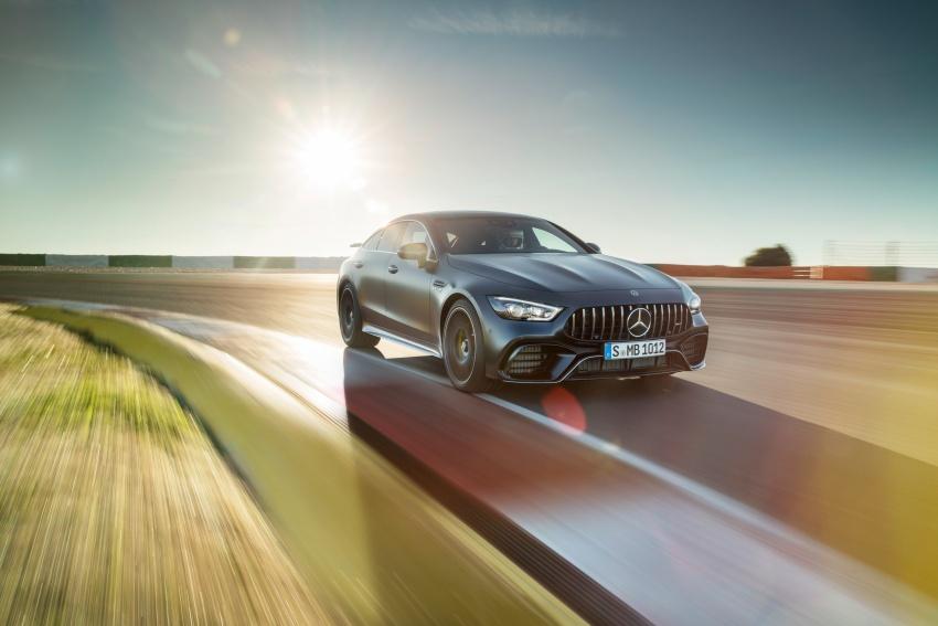 Mercedes-AMG GT Coupe 4-pintu didedahkan – tampil pilihan enjin 4.0L V8 twin turbo, 630 hp/900 Nm Image #787602