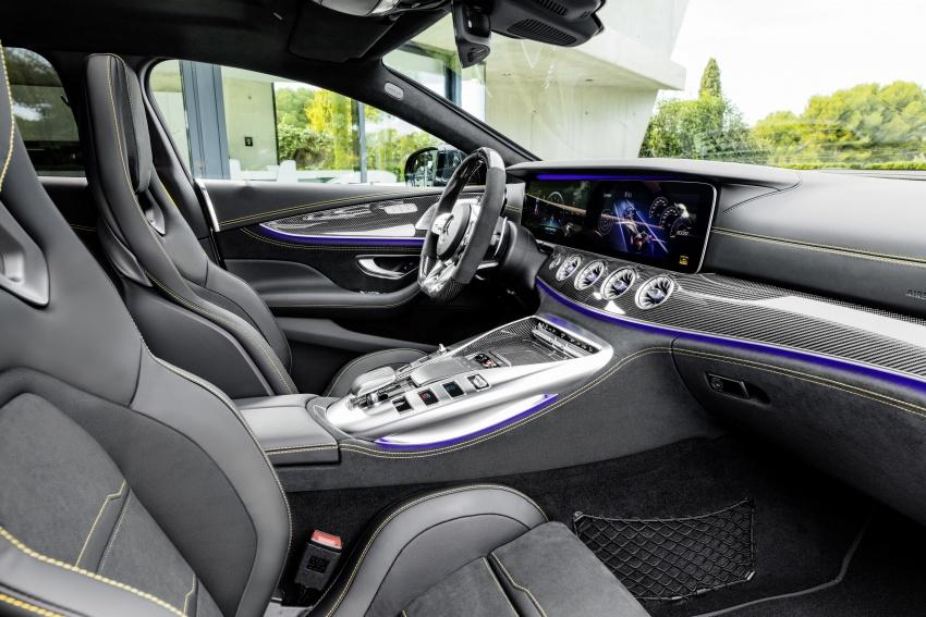 Mercedes-AMG GT Coupe 4-pintu didedahkan – tampil pilihan enjin 4.0L V8 twin turbo, 630 hp/900 Nm Image #787611