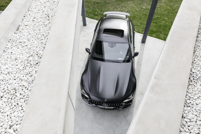 Mercedes-AMG GT Coupe 4-pintu didedahkan – tampil pilihan enjin 4.0L V8 twin turbo, 630 hp/900 Nm Image #787637