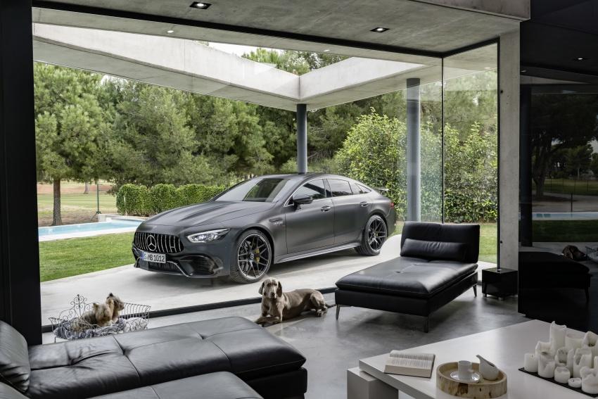 Mercedes-AMG GT Coupe 4-pintu didedahkan – tampil pilihan enjin 4.0L V8 twin turbo, 630 hp/900 Nm Image #787638