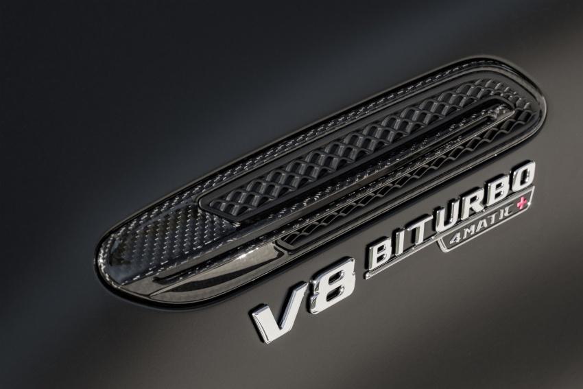 Mercedes-AMG GT Coupe 4-pintu didedahkan – tampil pilihan enjin 4.0L V8 twin turbo, 630 hp/900 Nm Image #787640